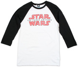 Long Sleeve: Star Wars The Force Awakens- Logo Fracture (Raglan) T-Shirt
