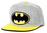 Batman- Logo Grey Snapback Gorra