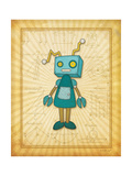 Wonderbot Prints by Jennifer Pugh