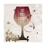 Sip and Repeat Prints by Anna Quach