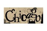 Chicago Affischer av Anna Quach