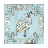 Quail 2 Print by Shanni Welsh