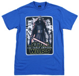 Star Wars The Force Awakens- Mangled Edge Shirts