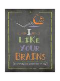 Brains Art by Jo Moulton