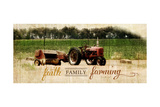 Faith Family Farming Kunstdruck von Jennifer Pugh