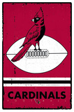 Arizona Cardinals - Retro Logo 2015 Posters