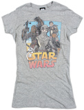 Women's: Star Wars The Force Awakens- Leading Lady Tシャツ