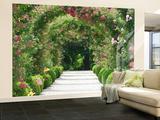Rose Arch Garden Wandgemälde