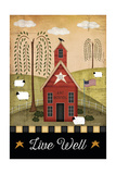 Primitive Live Well Prints by Jennifer Pugh