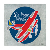 Airplane One Premium Giclee Print by Shanni Welsh