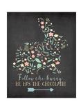 Follow the Bunny Plakater af Jo Moulton