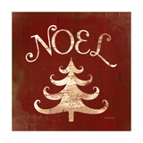 Noel Tree Prints by Jennifer Pugh