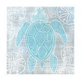 Sea Turtle Schilderij van Shanni Welsh