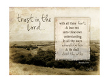 Trust in the Lord Premium Giclee Print by Jennifer Pugh