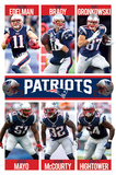 New England Patriots - Team 2015 Print