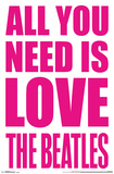 The Beatles - Love Posters