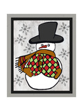 Snowman One-Craft Prints by Shanni Welsh