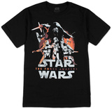 Star Wars The Force Awakens- New Poster T-Shirts