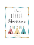 Little Adventurer Posters by Jo Moulton