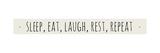 Sleep Eat Rest Prints by Anna Quach