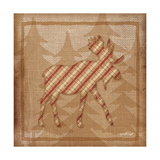 Moose Plaid Prints by Jennifer Pugh