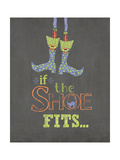 If the Shoe Fits Print by Jo Moulton