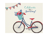 Simply Celebrate Life Poster by Jo Moulton