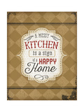 A Messy Kitchen Poster von Jennifer Pugh
