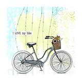 I Love My Bike Arte por Sarah Ogren