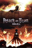 Attack On Titan - Fire Posters
