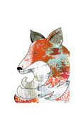 Fox Prints by Sarah Ogren