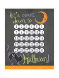 Count Down Posters by Jo Moulton