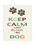 Keep Calm Poster by Jo Moulton