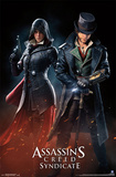 Assassins Creed Syndicate - Evie And Jacob Posters