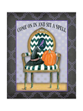 Sit a Spell Posters by Jo Moulton