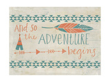 The Adventure Begins Posters by Katie Doucette