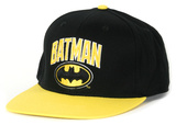 Batman- Wordmark Logo Snapback Hat