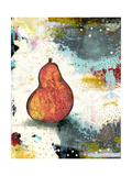 Abstract Pear Prints by Sarah Ogren