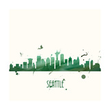 Seattle Prints by Anna Quach