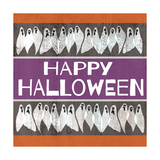 Ghosts-Happy Halloween Premium Giclee Print by Shanni Welsh