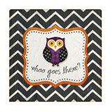 Halloween Owl Poster van Jennifer Pugh