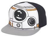 Star Wars- Boy's BB8 Reflective Brim Snapback Hat