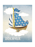 Dream Sailboat I Posters by Jennifer Pugh