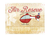 Air Rescue Print by Jennifer Pugh