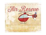 Air Rescue Premium Giclee Print by Jennifer Pugh