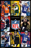 NFL - Quarterbacks 2015 Plakat