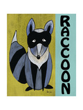 Woodland Raccoon Posters by Shanni Welsh