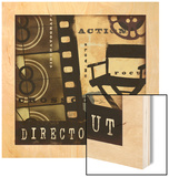 Director's Cut Wood Print by Eric Yang