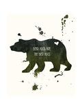Bear Poster av Anna Quach