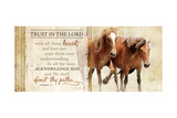 Trust in the Lord Prints by Jennifer Pugh